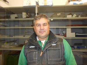 L'allevatore Roberto Chizzoni