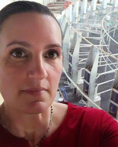 L'allevatrice Arianna Nordera
